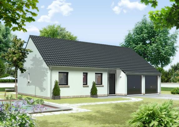 Maisons + Terrains du constructeur MAISON FAMILIALE SAINT QUENTIN • 98 m² • SAINT GOBAIN