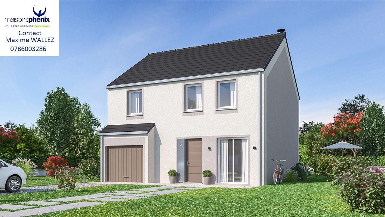 Maisons + Terrains du constructeur MAISONS PHENIX LEZENNES • 120 m² • HERLIES