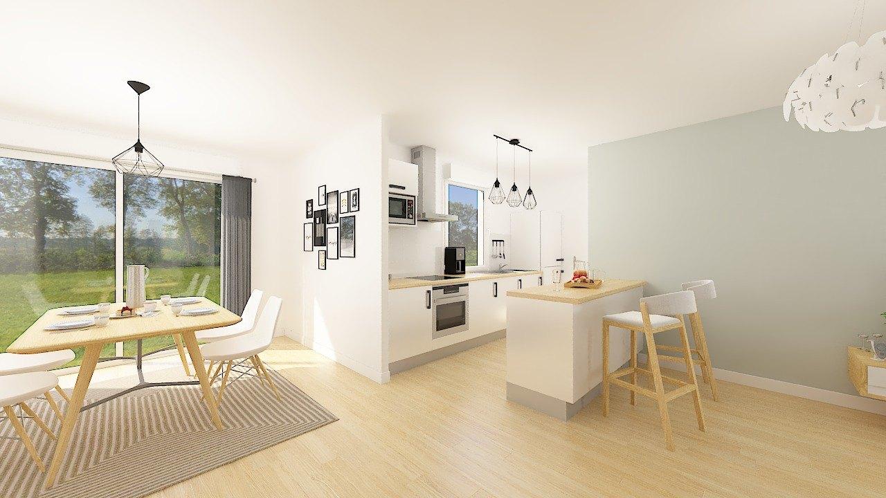 Maisons + Terrains du constructeur MAISONS PHENIX LEZENNES • 81 m² • LA BASSEE