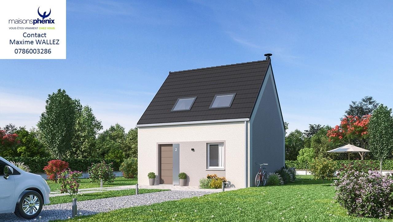 Maisons + Terrains du constructeur MAISONS PHENIX LEZENNES • 67 m² • GONDECOURT