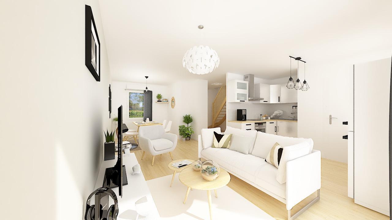 Maisons + Terrains du constructeur MAISONS PHENIX LEZENNES • 74 m² • LESQUIN