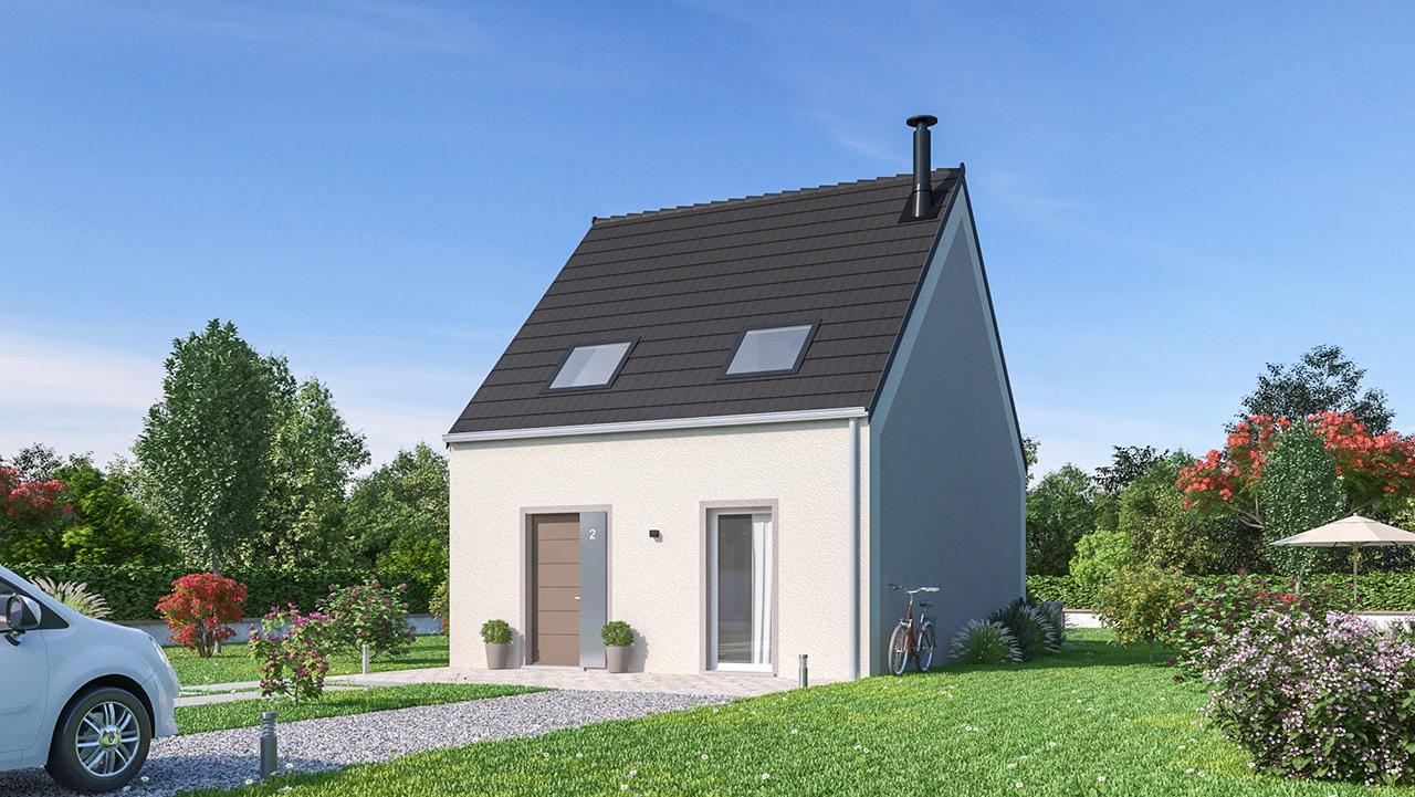 Maisons + Terrains du constructeur MAISONS PHENIX LEZENNES • 84 m² • LESQUIN