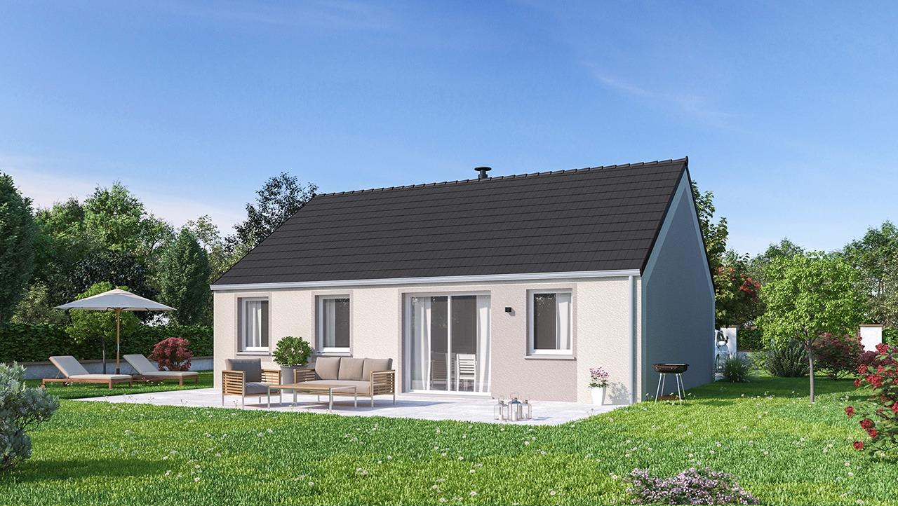 Maisons + Terrains du constructeur MAISONS PHENIX LEZENNES • 84 m² • SECLIN