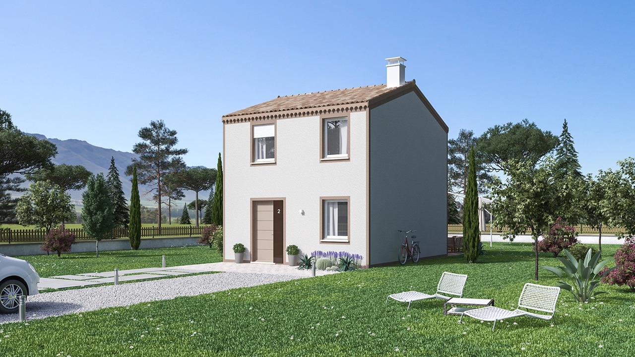 Maisons + Terrains du constructeur Maisons Phénix Roquebrune • 74 m² • LES ARCS