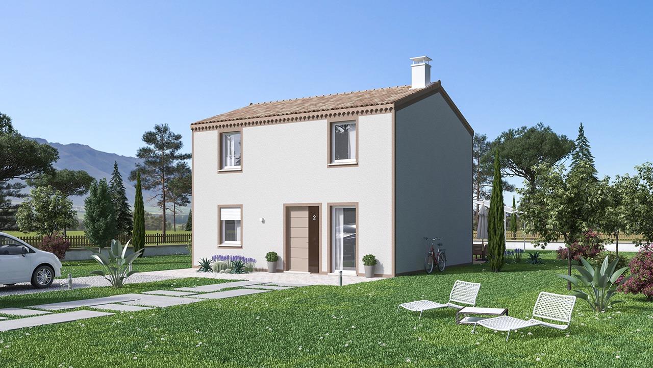 Maisons + Terrains du constructeur Maisons Phénix Roquebrune • 106 m² • BRIGNOLES