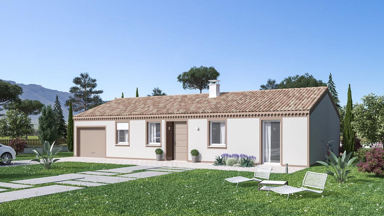 Maisons + Terrains du constructeur Maisons Phénix Roquebrune • 99 m² • LA CELLE