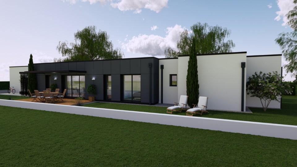Maisons + Terrains du constructeur BERMAX CONSTRUCTION • 90 m² • SAINT GEORGES DE DIDONNE