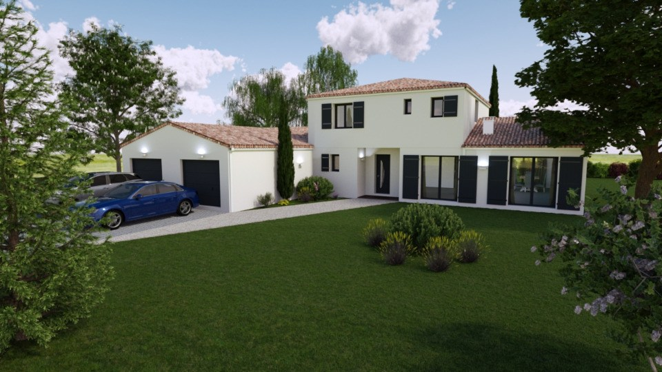Maisons + Terrains du constructeur BERMAX CONSTRUCTION • 190 m² • SEMUSSAC