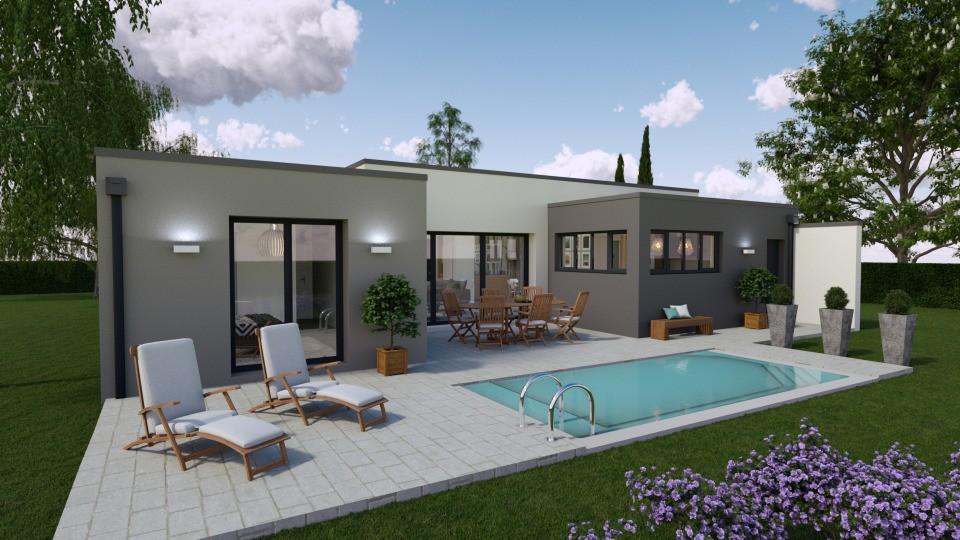 Maisons + Terrains du constructeur BERMAX CONSTRUCTION • 100 m² • VAUX SUR MER