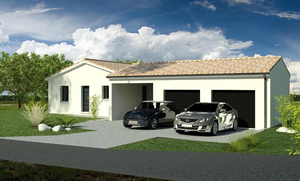 Maisons + Terrains du constructeur BERMAX CONSTRUCTION • 120 m² • VAUX SUR MER