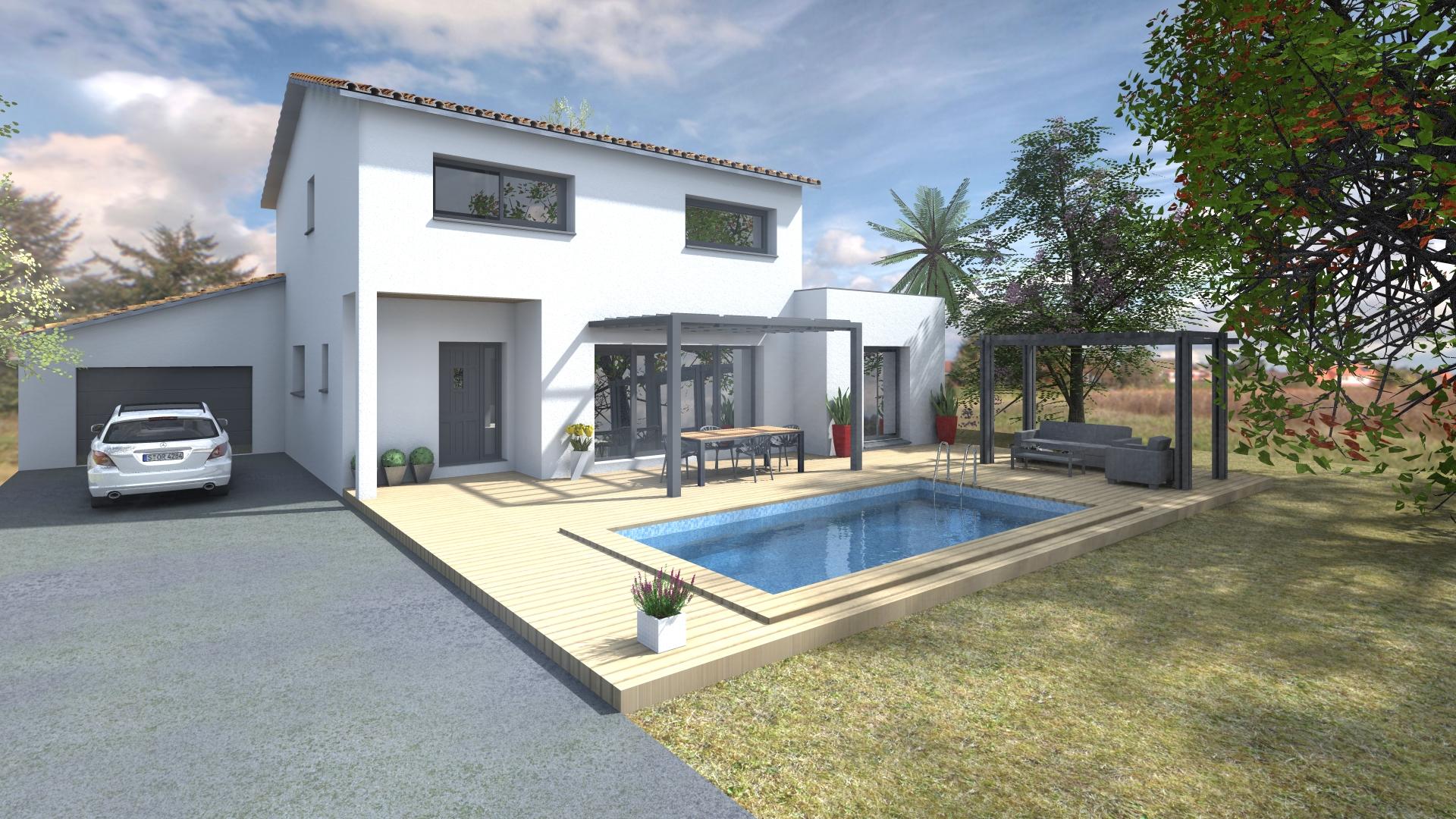 Maisons + Terrains du constructeur VILLAS SUD CREATION • 140 m² • VILLENEUVE LES BOULOC