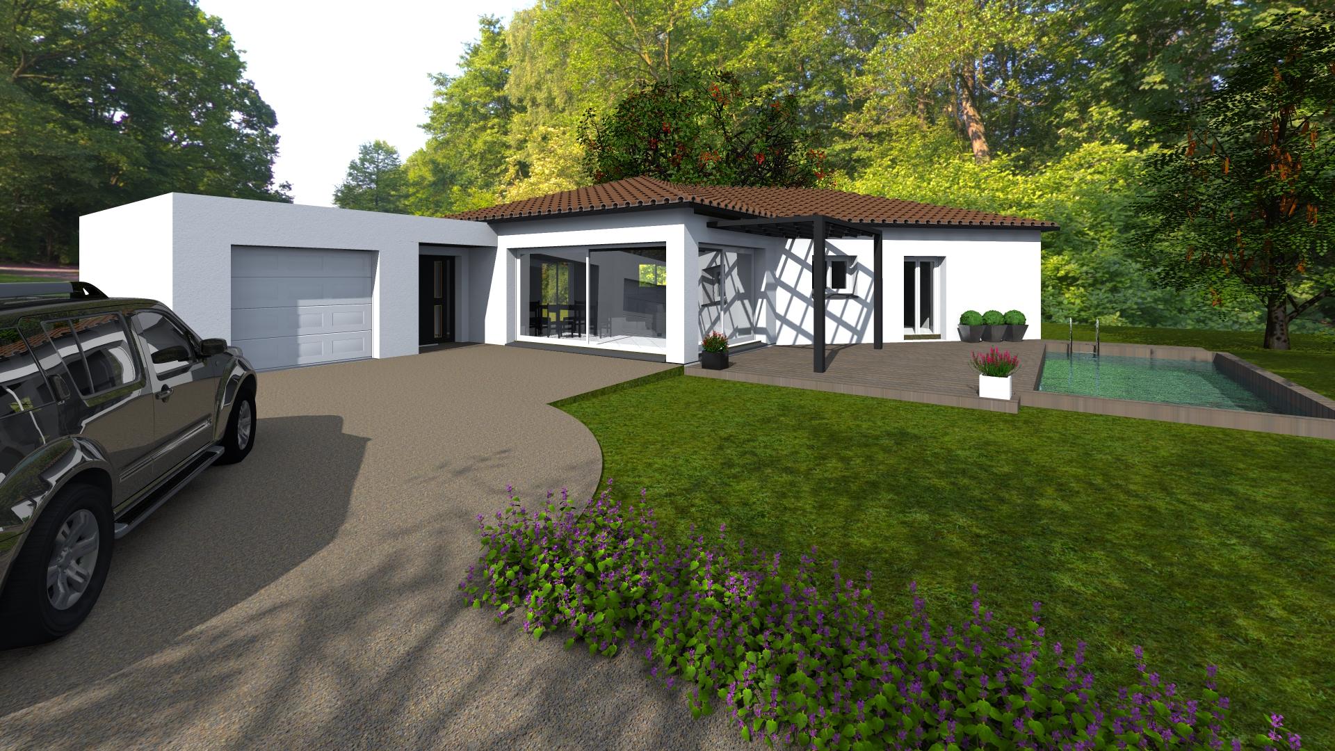 Maisons + Terrains du constructeur VILLAS SUD CREATION • 125 m² • GRENADE