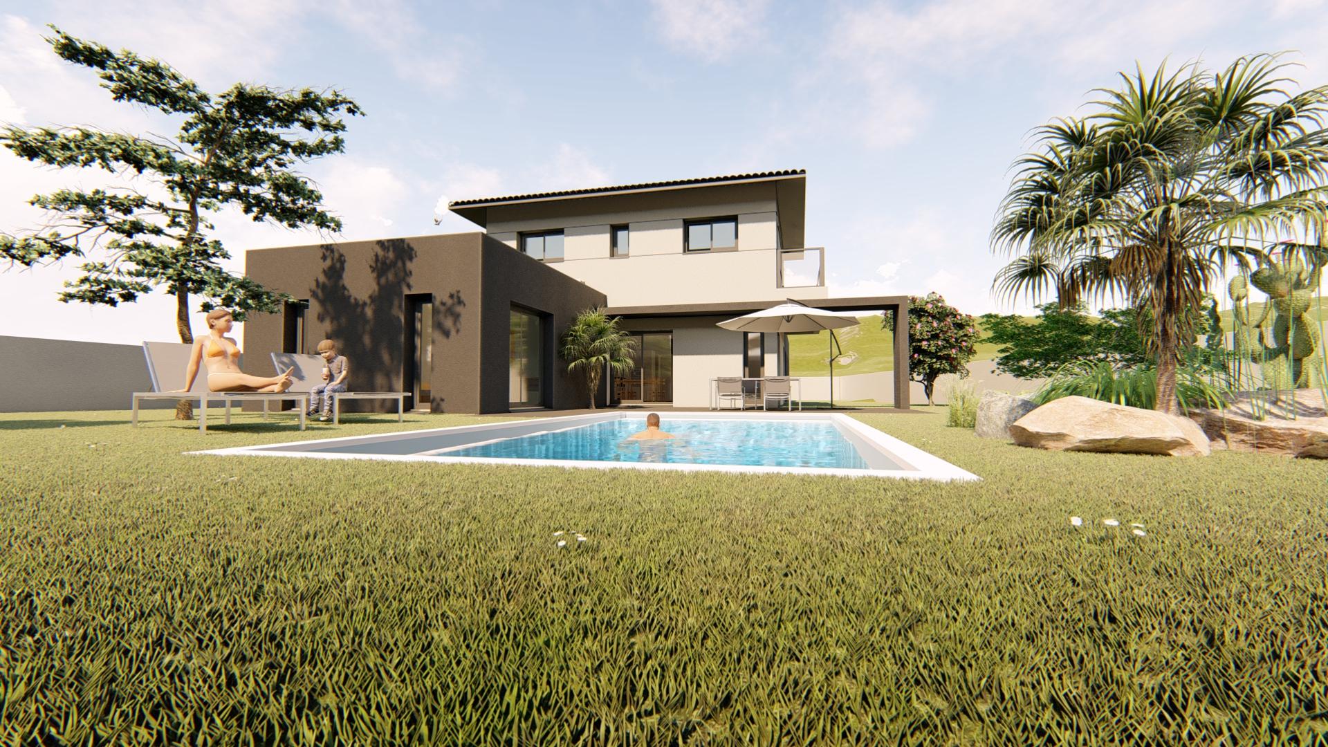 Maisons + Terrains du constructeur VILLAS SUD CREATION • 156 m² • PIBRAC