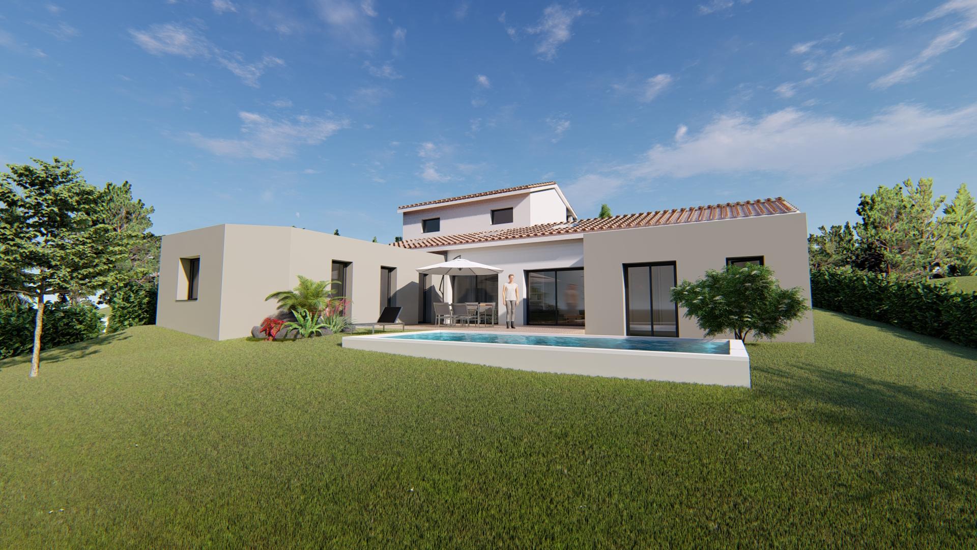 Maisons + Terrains du constructeur VILLAS SUD CREATION • 123 m² • PLAISANCE DU TOUCH