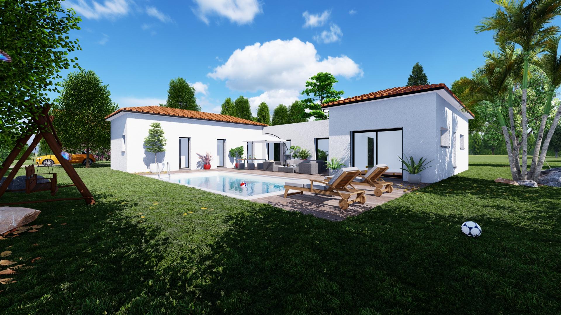 Maisons + Terrains du constructeur VILLAS SUD CREATION • 146 m² • AUSSONNE
