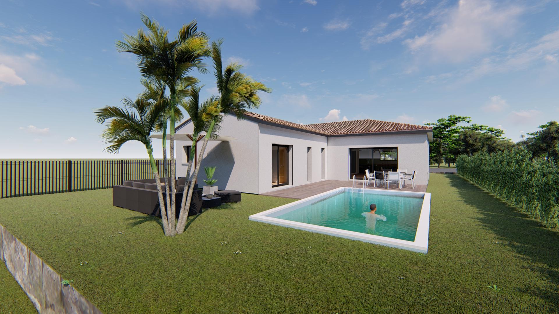Maisons + Terrains du constructeur VILLAS SUD CREATION • 105 m² • CASTELNAU D'ESTRETEFONDS