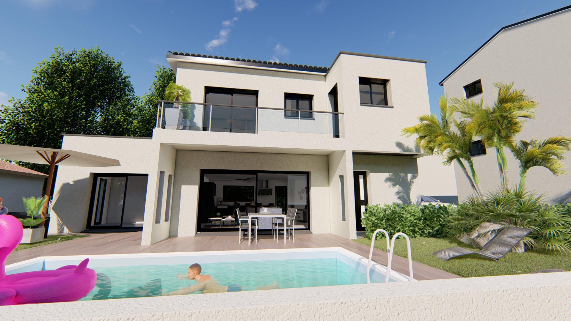 Maisons + Terrains du constructeur VILLAS SUD CREATION • 140 m² • CARAMAN