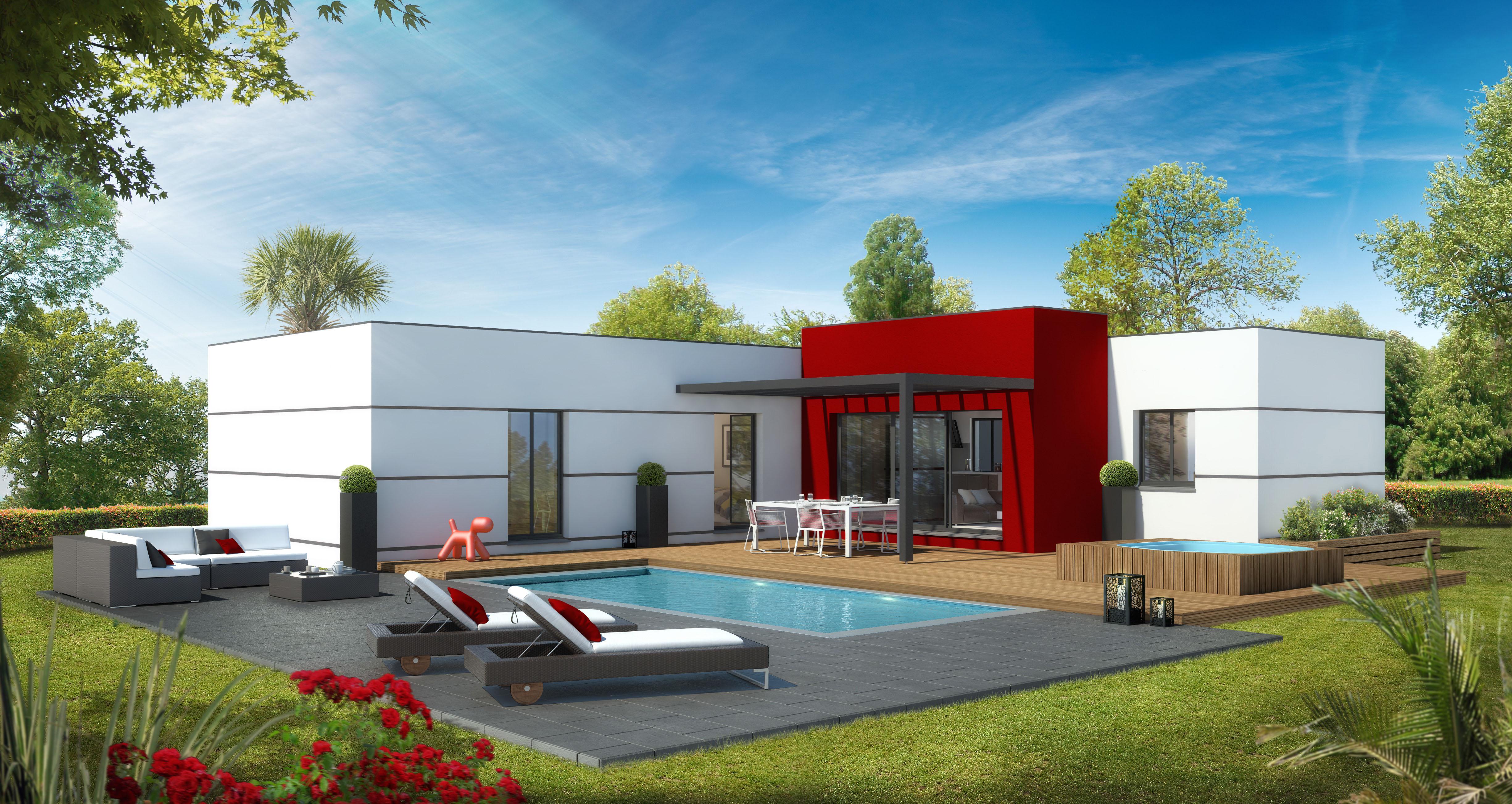 Maisons + Terrains du constructeur VILLAS SUD CREATION • 130 m² • LE FAUGA