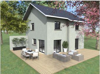 Maisons du constructeur TRADITION LOGIS 38 • 105 m² • CHAPAREILLAN