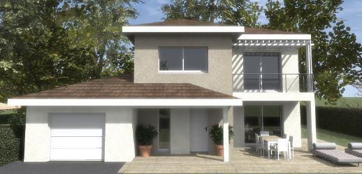 Maisons du constructeur TRADITION LOGIS 38 • 114 m² • CLAIX