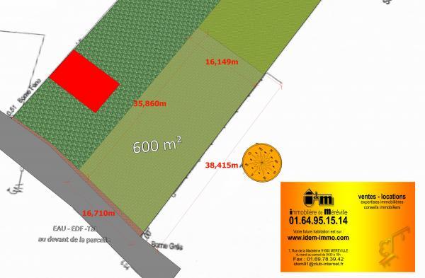Terrains du constructeur IMMOBILIERE DE MEREVILLE • 600 m² • MEREVILLE
