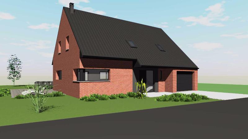 Maisons + Terrains du constructeur OPPORTUNITES IMMOBILIERES • WERVICQ SUD