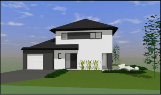 Maisons + Terrains du constructeur OPPORTUNITES IMMOBILIERES • 140 m² • GONDECOURT