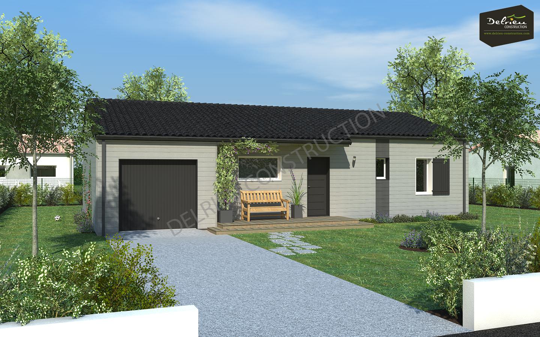 Maisons du constructeur DELRIEU CONSTRUCTION • 88 m² • SAINT AUGUSTIN