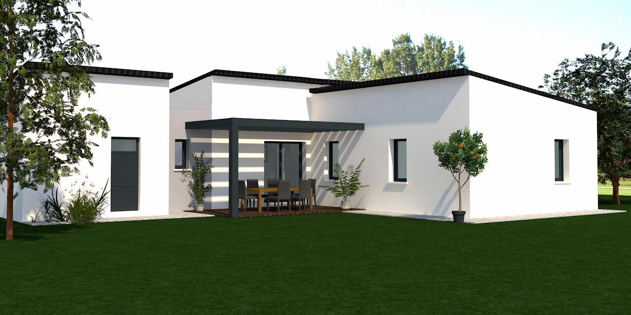 Maisons du constructeur DELRIEU CONSTRUCTION • 99 m² • SAINT AUGUSTIN