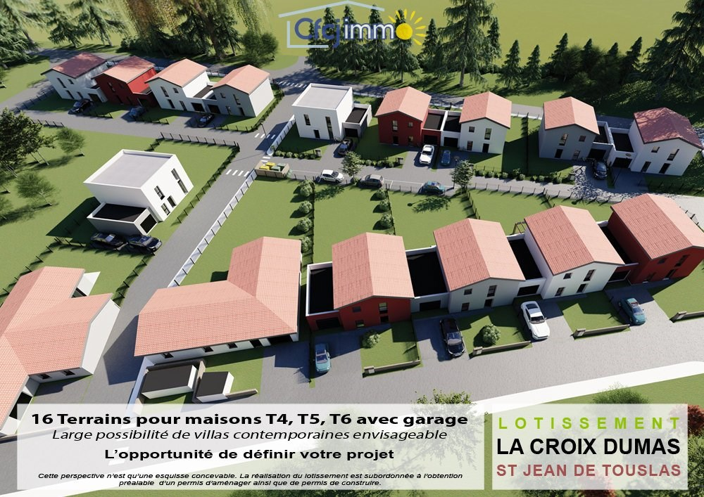 Terrains du constructeur C.F.C.J IMMO • 306 m² • MORNANT