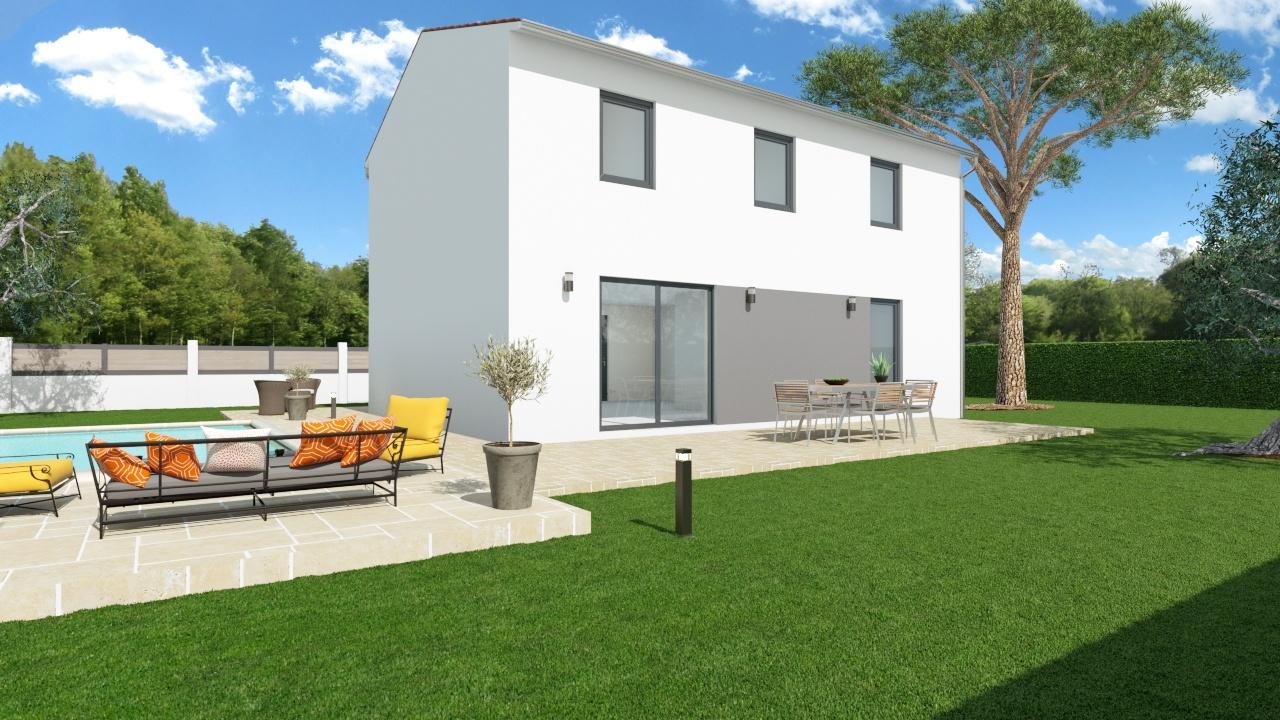 Maisons + Terrains du constructeur MAISONS PHENIX - MONTPELLIER • 116 m² • PEROLS