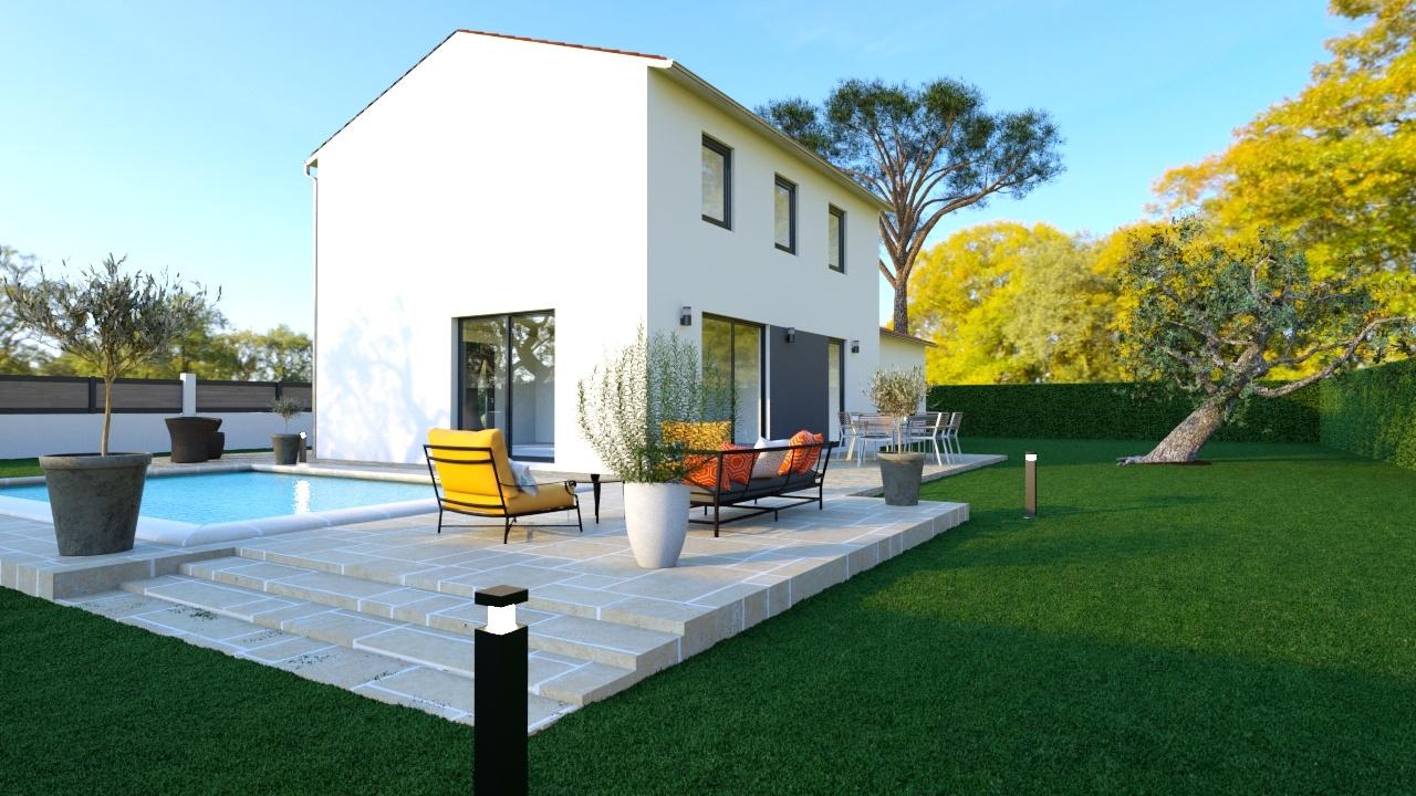 Maisons + Terrains du constructeur MAISONS PHENIX - MONTPELLIER • 106 m² • CAVEIRAC