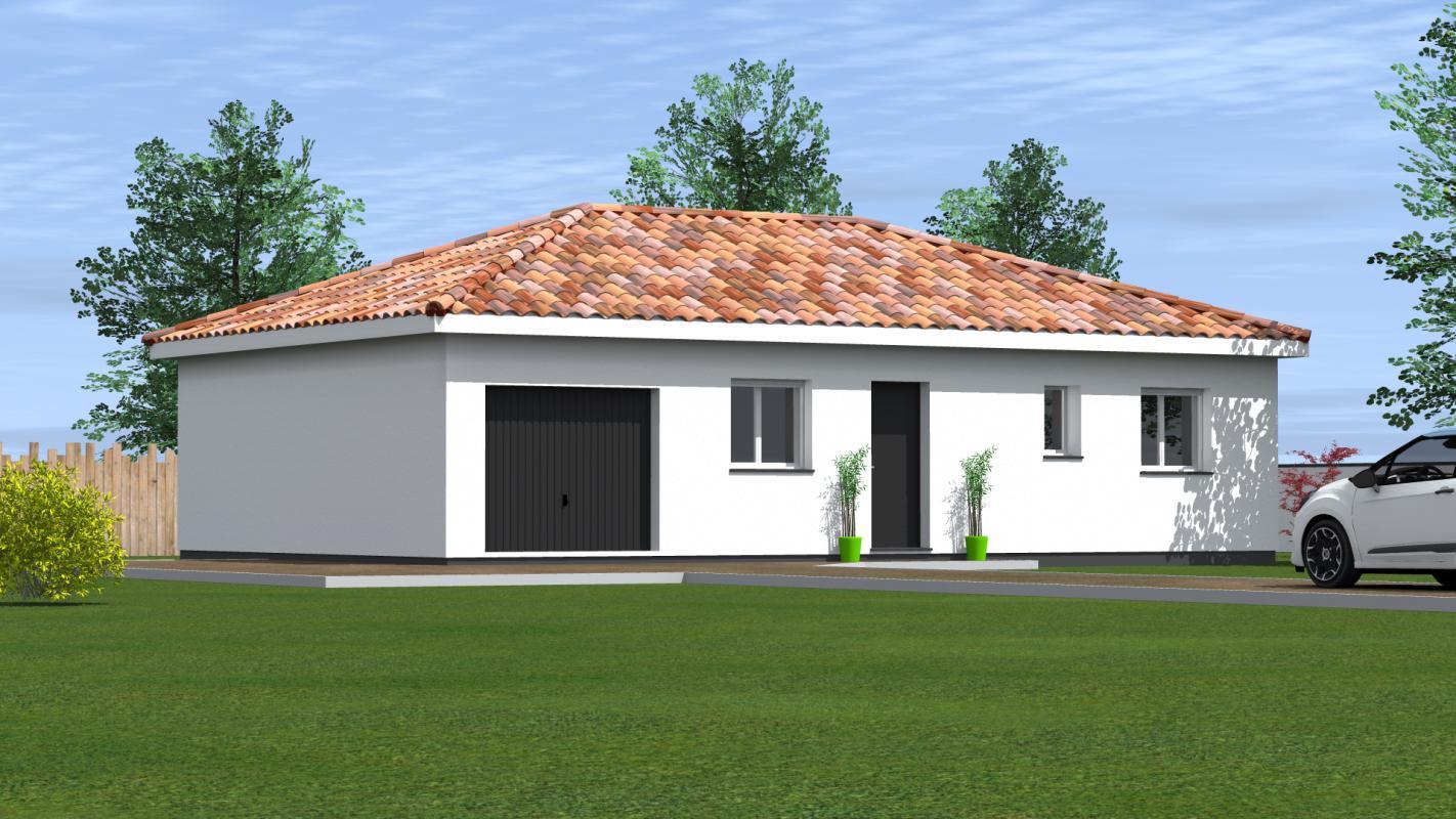 Maisons du constructeur MAISONS CONFORECO - AGENCE MONT DE MARSAN • 75 m² • SAINT PIERRE DU MONT
