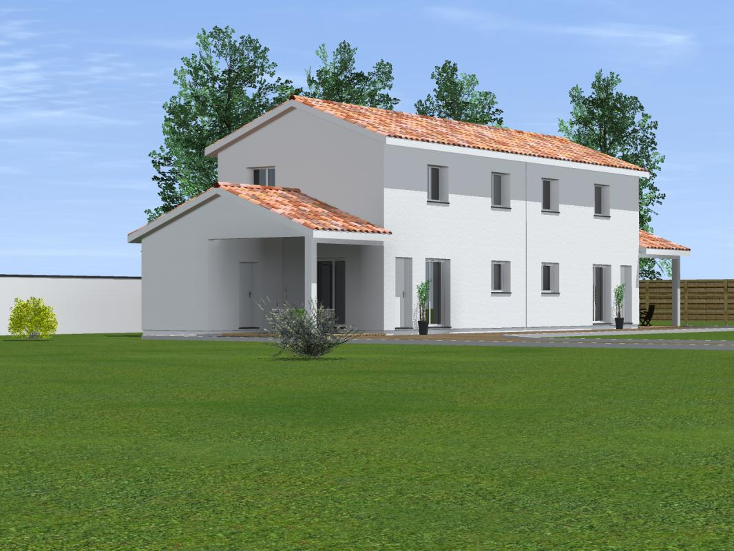 Maisons du constructeur MAISONS CONFORECO - AGENCE MONT DE MARSAN • 179 m² • SAINT PIERRE DU MONT