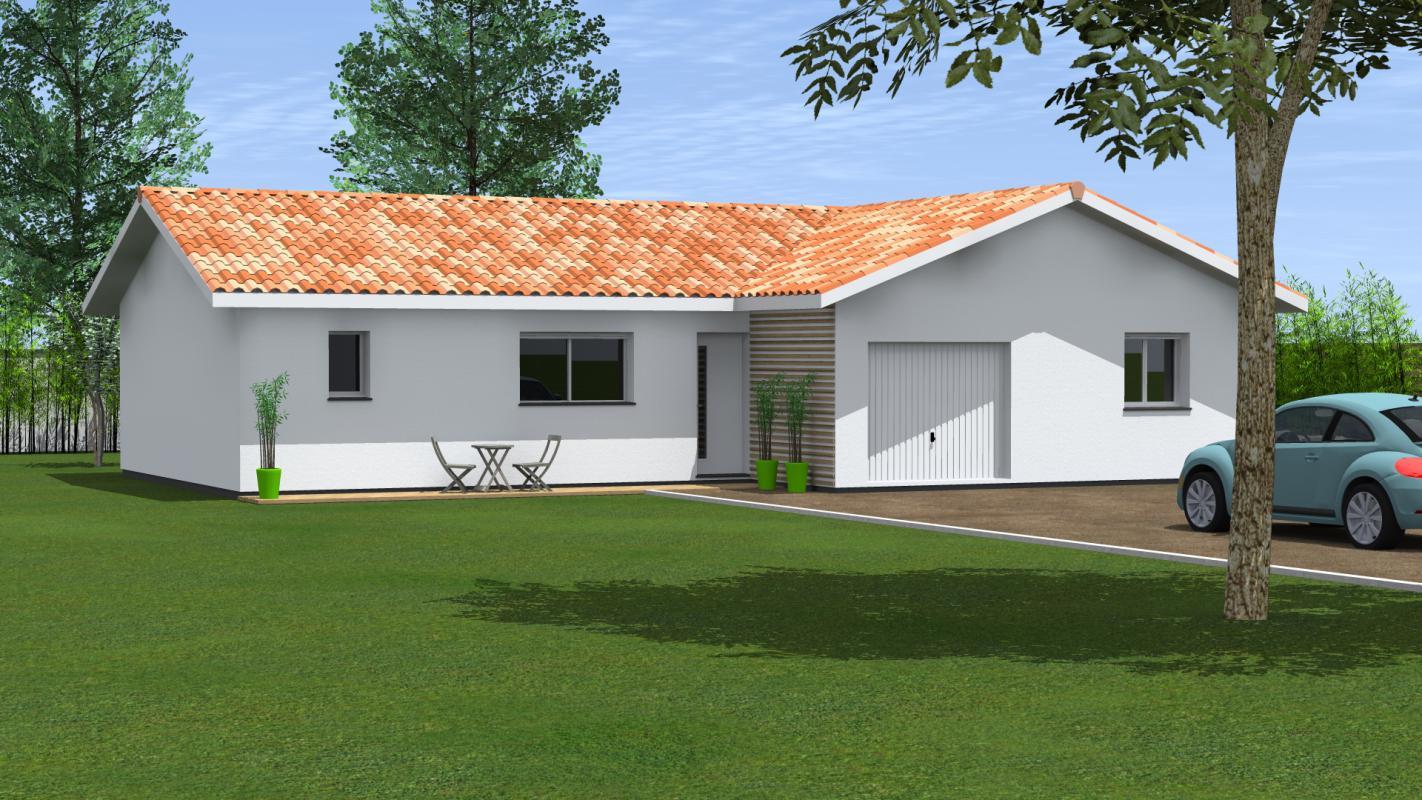 Maisons du constructeur MAISONS CONFORECO - AGENCE MONT DE MARSAN • 98 m² • SAINT PERDON