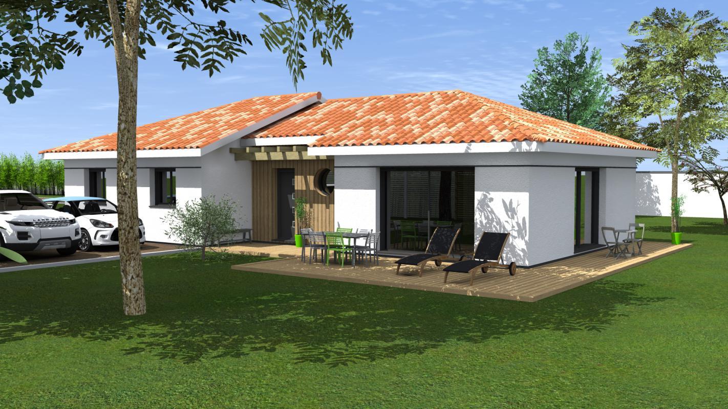 Maisons du constructeur MAISONS CONFORECO - AGENCE MONT DE MARSAN • 113 m² • HAGETMAU