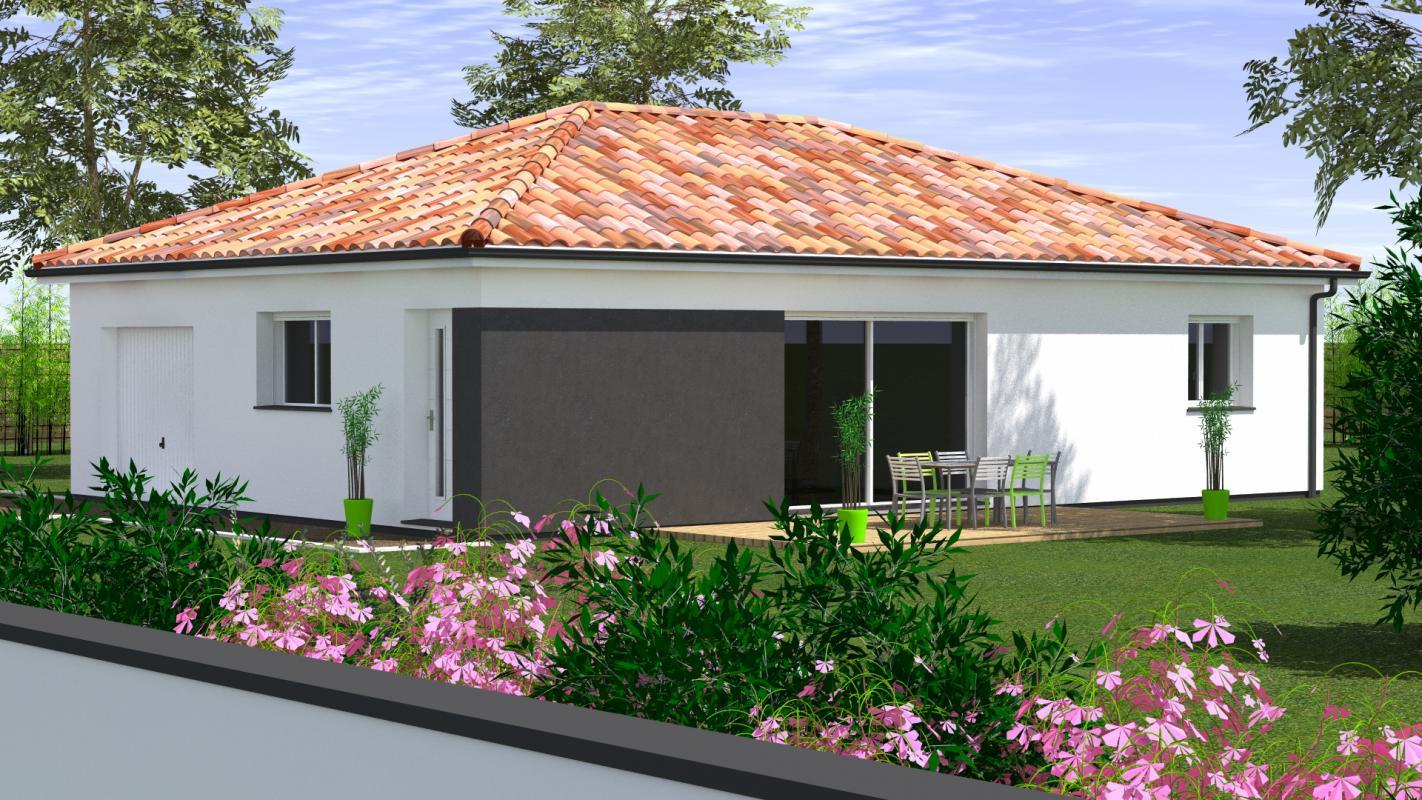 Maisons du constructeur MAISONS CONFORECO - AGENCE MONT DE MARSAN • 84 m² • DOAZIT