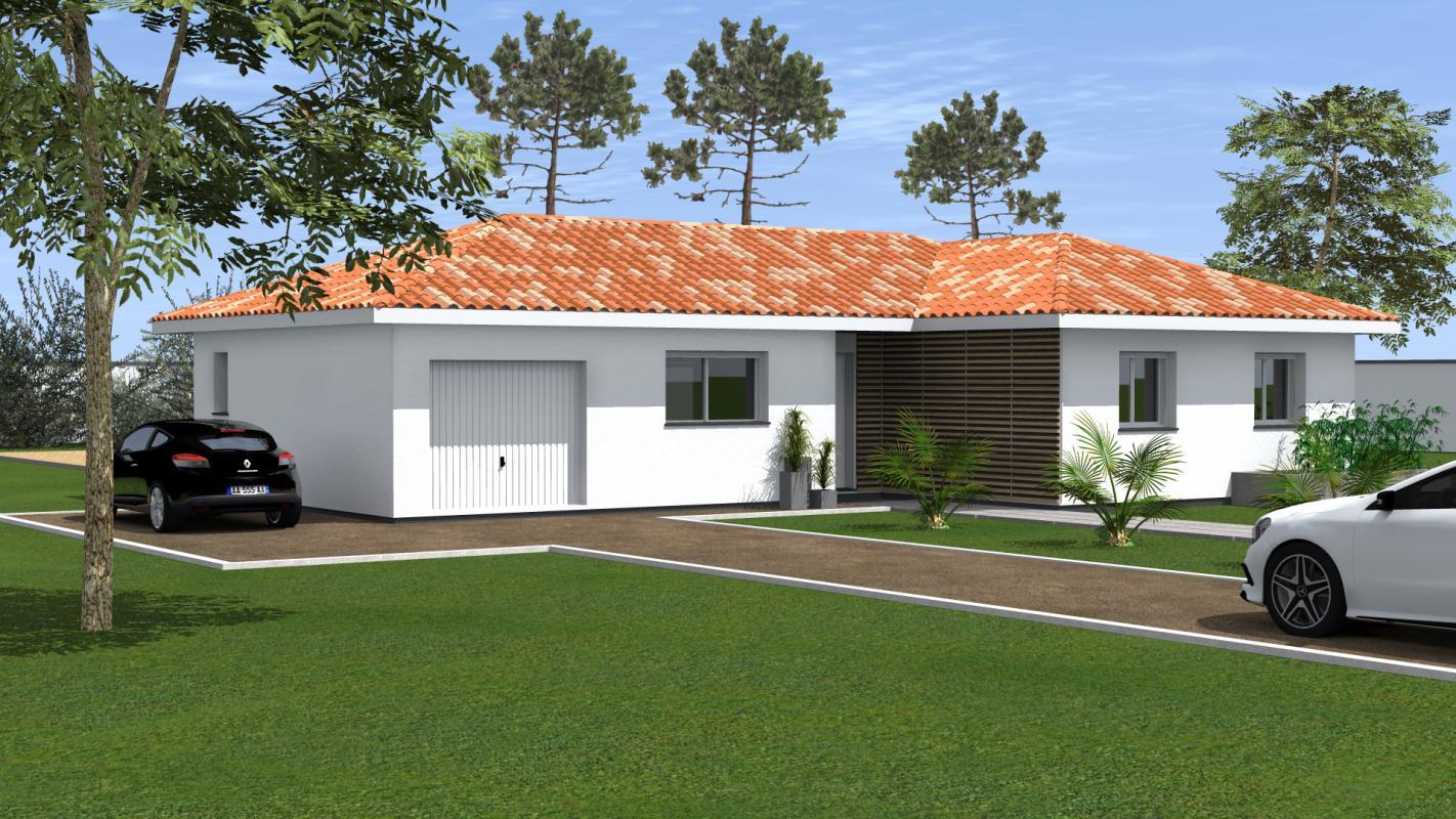 Maisons du constructeur MAISONS CONFORECO - AGENCE MONT DE MARSAN • 100 m² • PONTONX SUR L'ADOUR