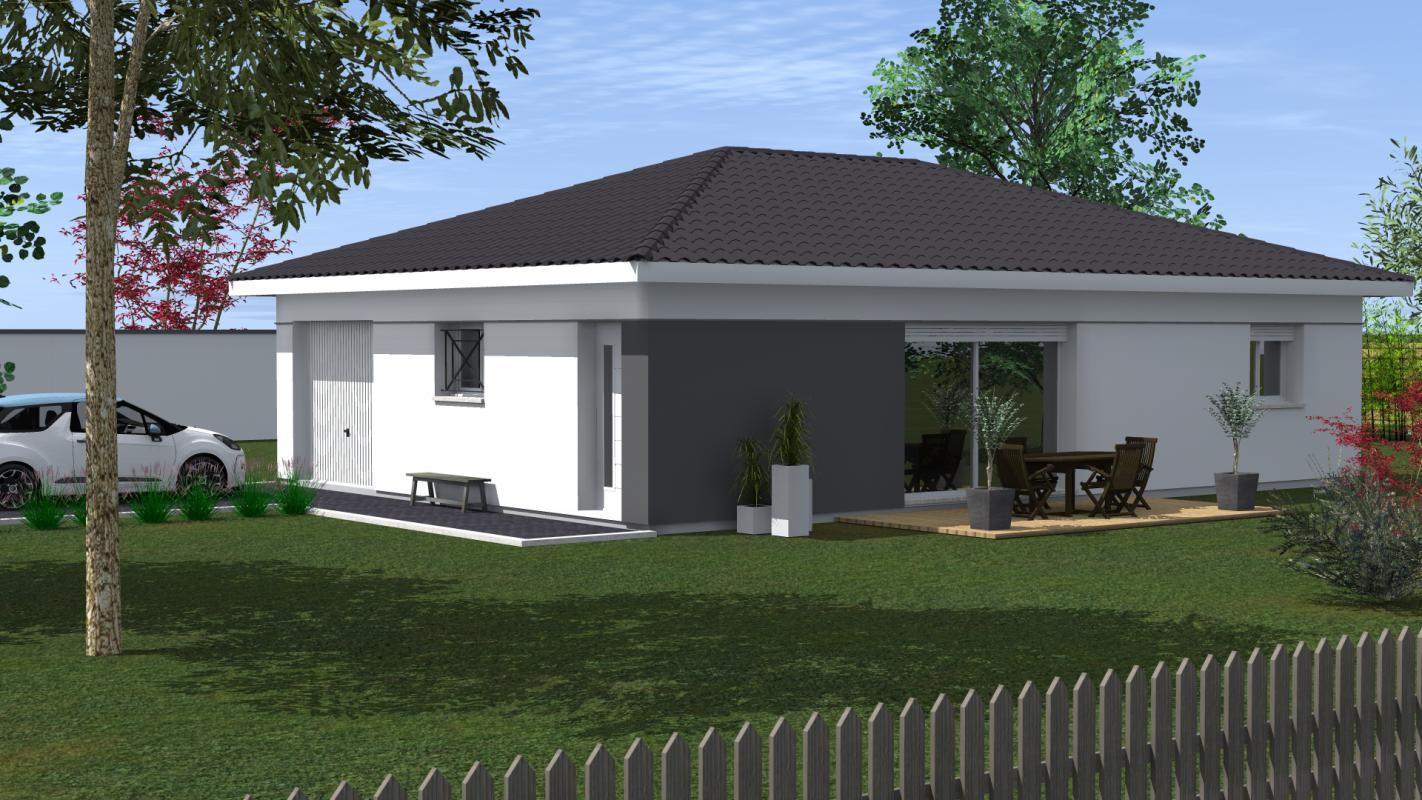 Maisons du constructeur MAISONS CONFORECO - AGENCE MONT DE MARSAN • 99 m² • POUILLON