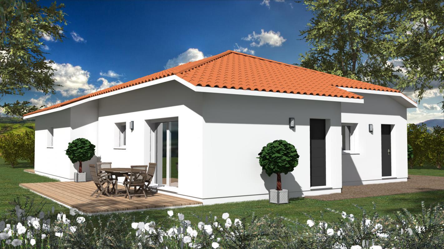 Maisons du constructeur MAISONS CONFORECO - AGENCE MONT DE MARSAN • 117 m² • MIMIZAN