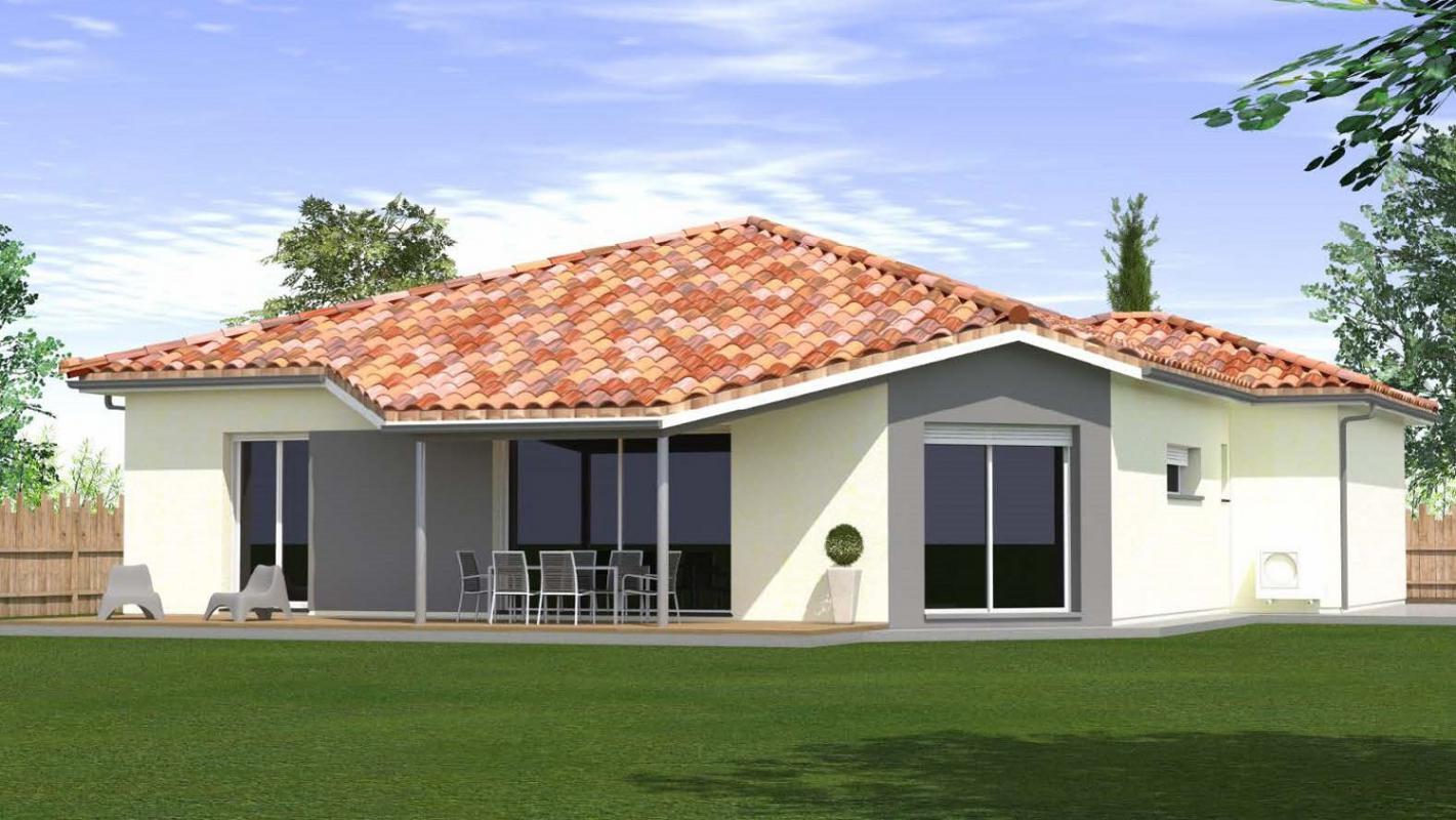 Maisons du constructeur MAISONS CONFORECO - AGENCE MONT DE MARSAN • 116 m² • PARENTIS EN BORN