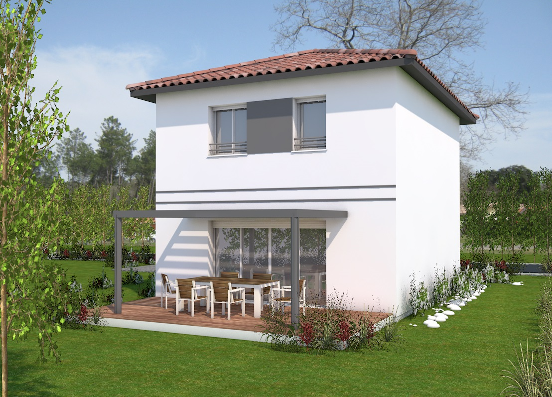 Maisons du constructeur MAISONS CONFORECO - AGENCE MONT DE MARSAN • 85 m² • SAINT VINCENT DE TYROSSE