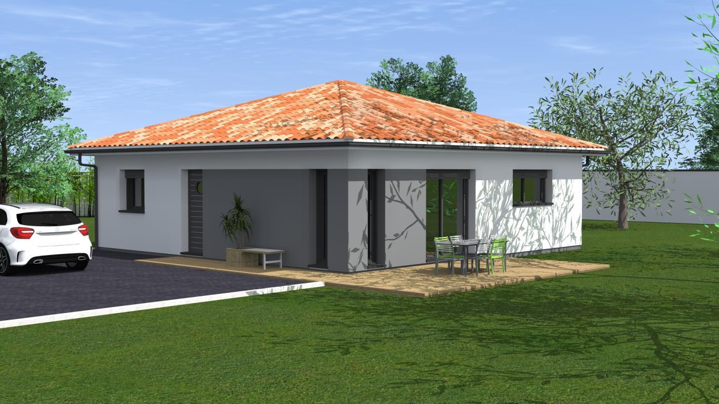 Maisons du constructeur MAISONS CONFORECO - AGENCE MONT DE MARSAN • 83 m² • BASCONS