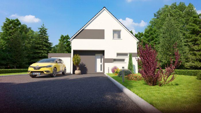 Maisons du constructeur HOMELINES • 100 m² • FESSENHEIM