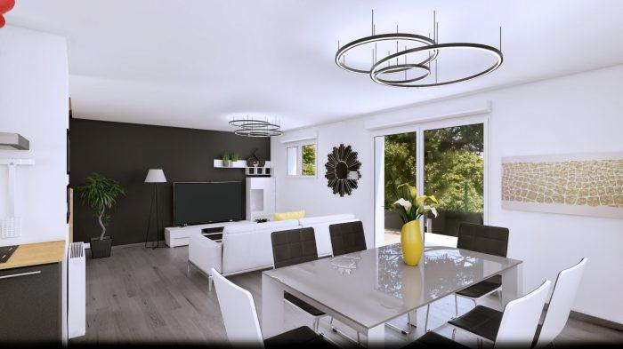 Maisons du constructeur HOMELINES • 90 m² • HAGENTHAL LE BAS