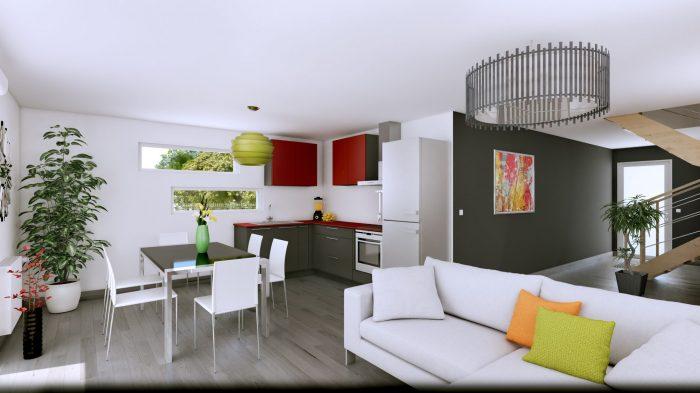 Maisons du constructeur HOMELINES • 90 m² • UFFHEIM