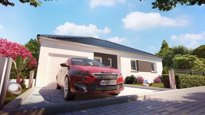 Maisons du constructeur HOMELINES • 90 m² • MERXHEIM
