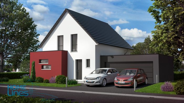 Maisons du constructeur HOMELINES • 110 m² • SAINT BERNARD
