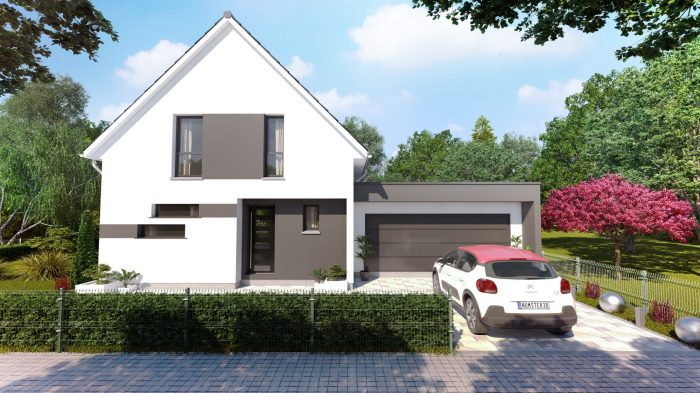 Maisons du constructeur HOMELINES • 110 m² • SOULTZ HAUT RHIN