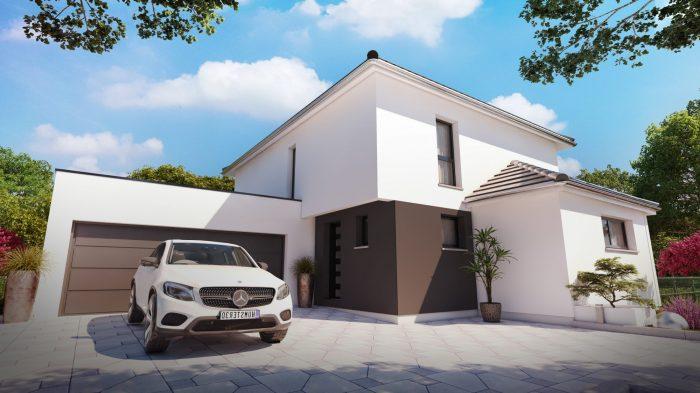 Maisons du constructeur HOMELINES • 155 m² • SOULTZ HAUT RHIN